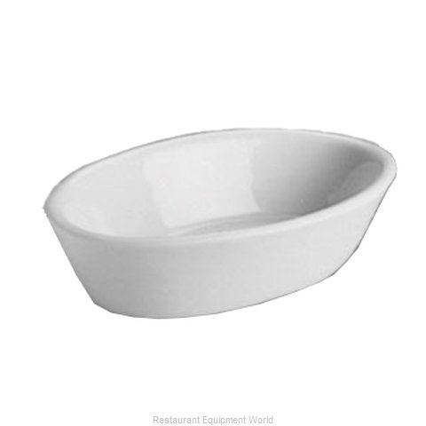Hall China 550-WH China Baking Dish