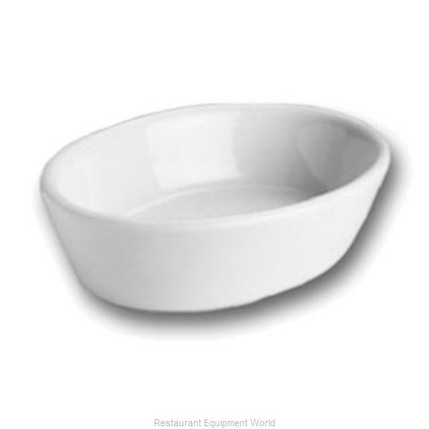 Hall China 570 1/2-WH China Baking Dish