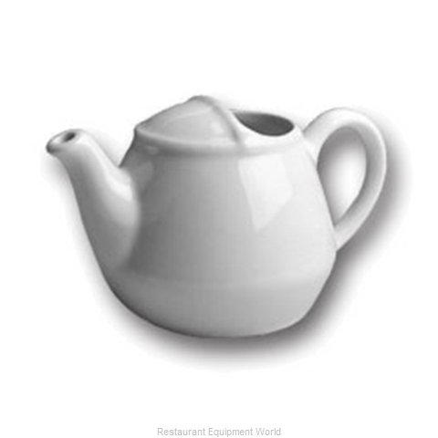Hall China 82-BW China Coffee Pot Teapot