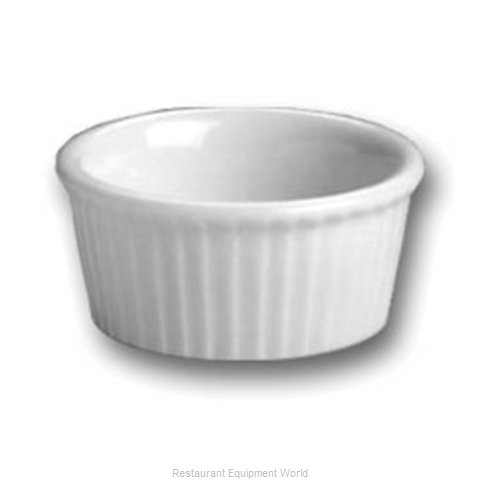 Hall China 844 1/2-WH China Ramekin