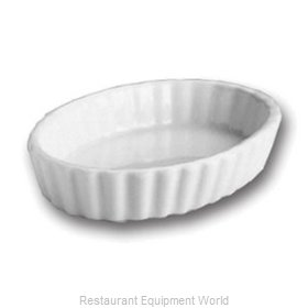 Hall China 851-BW China Souffle