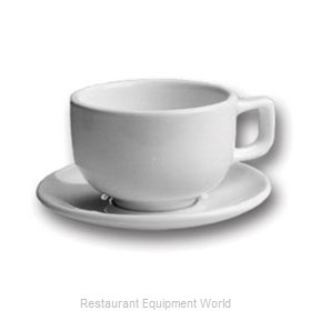 Hall China 956-BW China Demitasse Saucer
