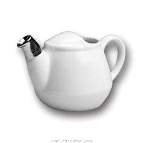 Hall China MTS-2528-WH China Coffee Pot Teapot
