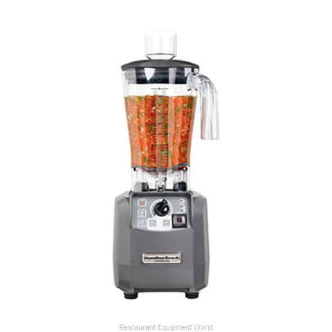 Hamilton Beach HBF600-CE Blender Food (Magnified)