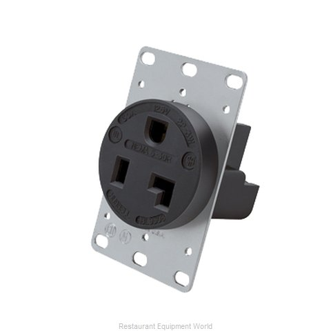 Hatco 30A-Recep-125 Amp Receptacle (Magnified)