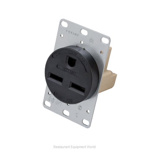 Hatco 30A-Recep-250 Amp Receptacle (Magnified)