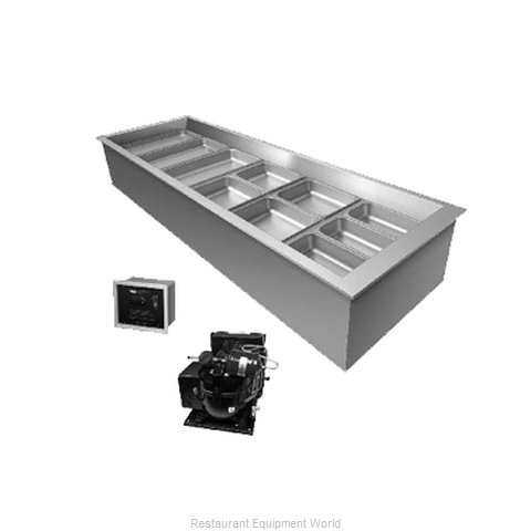 Hatco CWBR-3 Cold Pan Food Unit Drop-In