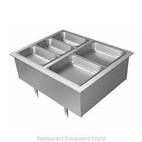 Hatco DHWBI-6 Hot Food Well Unit, Drop-In, Electric