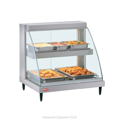 Hatco GRCD-2PD Display Case Heated Deli Countertop