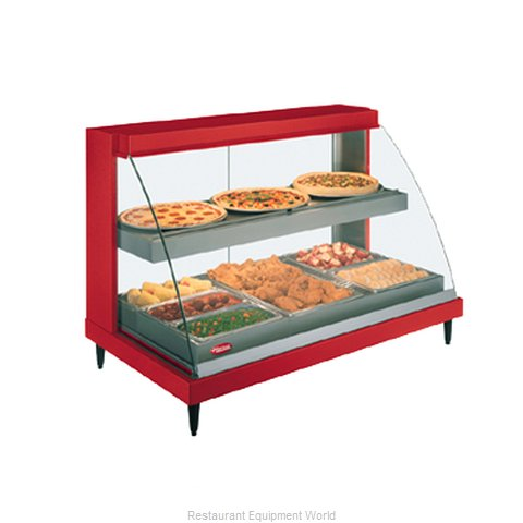 Hatco GRCD-3PD-120-QS Display Case Heated Deli Countertop