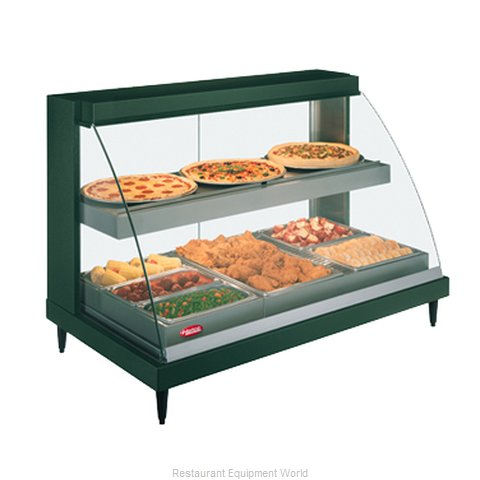Hatco GRCDH-3PD-120-QS Display Case Heated Deli Countertop