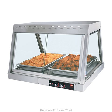 Hatco GRHD-2P Display Case, Heated Deli, Countertop (Magnified)