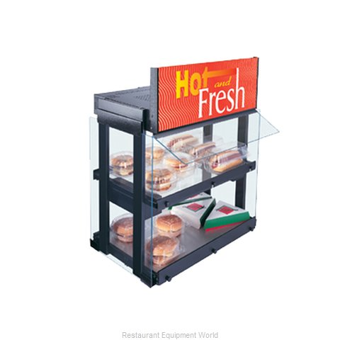 Hatco GRHW-1SGD Glo-Ray Heated Mini-Merchandiser
