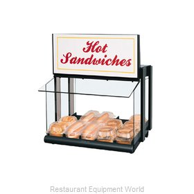 Hatco GRHW-1SGS Display Case, Hot Food, Countertop