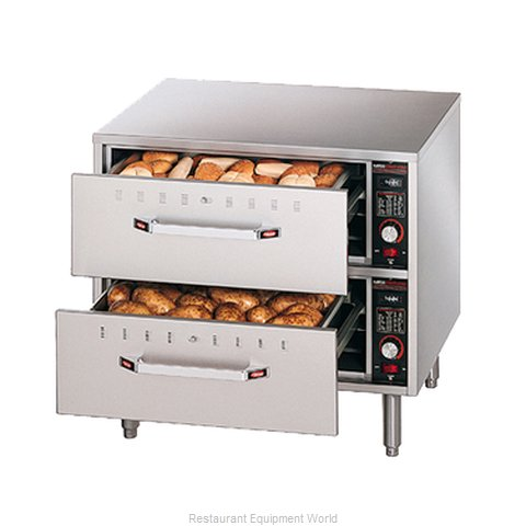 Hatco HDW-2-120-QS Warming Drawer Free Standing (Magnified)