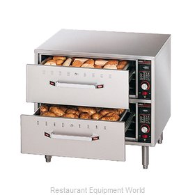 Hatco HDW-2-120-QS Warming Drawer Free Standing