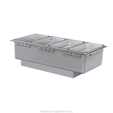Hatco HWBH-43 Hot Food Well Unit Electric Drop-In Top Mount