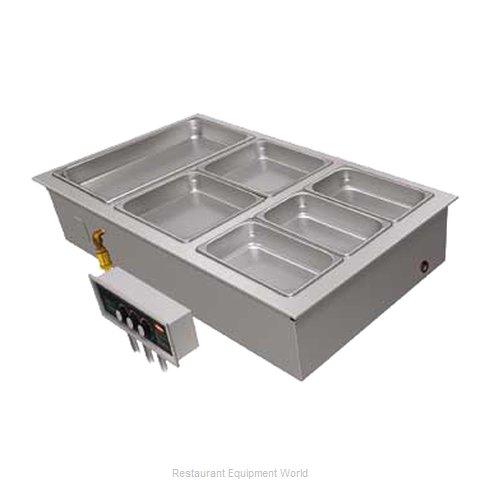 Hatco HWBI-2M Hot Food Well Unit, Drop-In, Electric