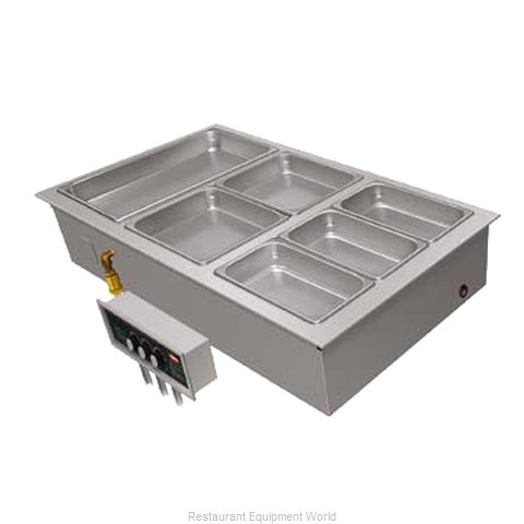 Hatco HWBI-3 Hot Food Well Unit, Drop-In, Electric (Magnified)