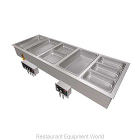 Hatco HWBI-6D Hot Food Well Unit, Drop-In, Electric