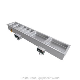 Hatco HWBI-S3D Hot Food Well Unit, Drop-In, Electric
