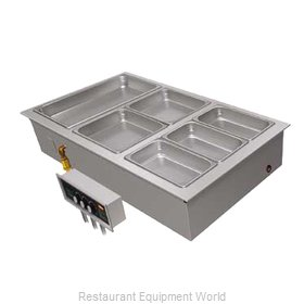 Hatco HWBLI-6 Hot Food Well Unit, Drop-In, Electric