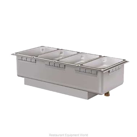 Hatco HWBLRN-43D Hot Food Well Unit Electric Drop-In Top Mount (Magnified)
