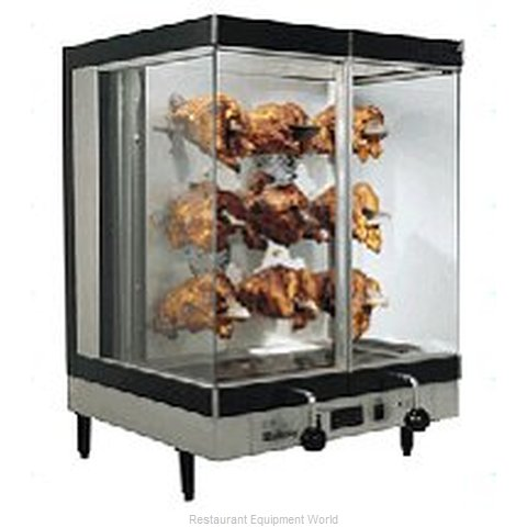 Hickory 1-9E Countertop Rotisserie Oven (Magnified)