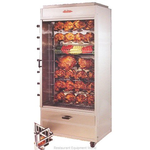 Hickory N7GRH Gas Rotisserie Oven