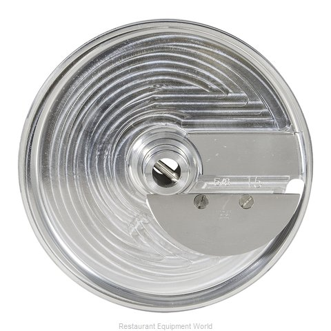 Hobart 15SFSLC-5/8 Food Processor, Slicing Disc Plate