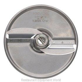 Hobart 15SLICE-1/16-SS Food Processor, Slicing Disc Plate