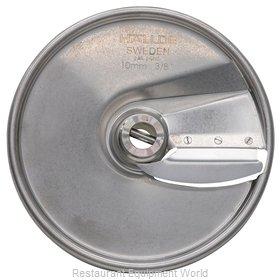 Hobart 15SLICE-3/8-SS Food Processor, Slicing Disc Plate