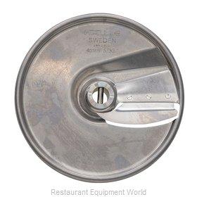Hobart 15SLICE-5/32-SS Food Processor, Slicing Disc Plate