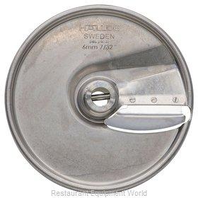 Hobart 15SLICE-7/32-SS Food Processor, Slicing Disc Plate