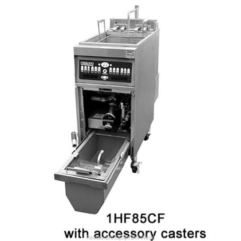 Hobart 1HF85CF-2-SBL Fryer Floor Model Electric Full Pot