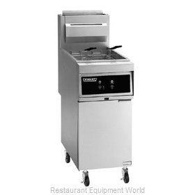 Hobart 1HG45M-1 Fryer Floor Model Gas Full Pot