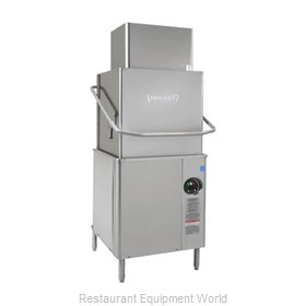 Hobart AM15VL+BUILDUP Dishwasher, Door/Hood Type