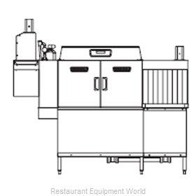 Hobart CLCS76ER+BUILDUP Dishwasher Conveyor Type