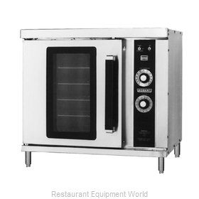 Hobart HGC20-NATURAL Half-Size Gas Convection Oven