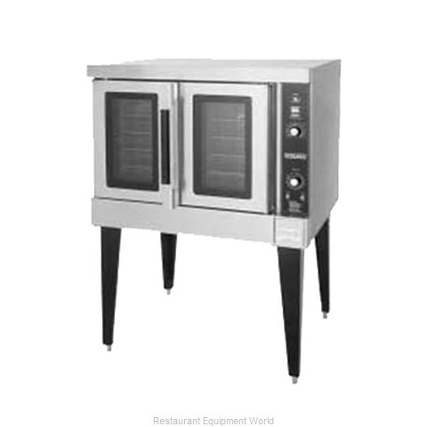 Hobart HGC501-NATURAL Convection Oven, Gas