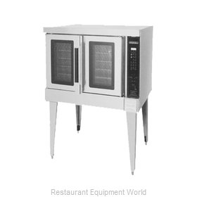Hobart HGC5D+BUILDUP Oven Convection Gas