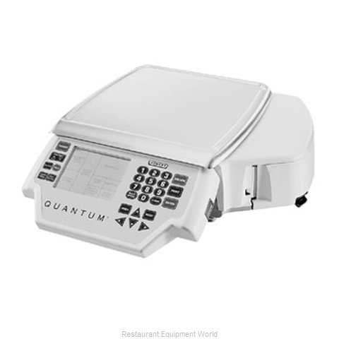 Hobart QUANTM1-MAX Label Printing Scale (Magnified)