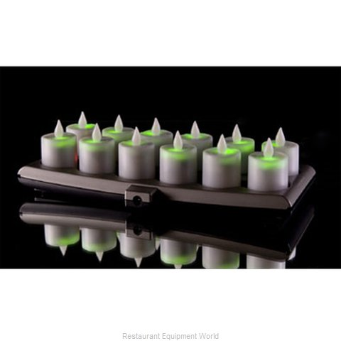 Hollowick EVOG12-CL Candle Flameless Rechargeable
