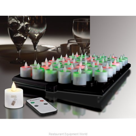 Hollowick EVOX/RC48-CL Candle Flameless Rechargeable