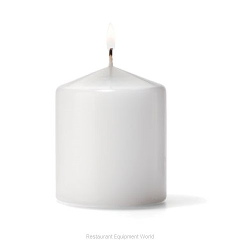Hollowick P3X3W-12 Candle, Wax