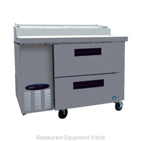 Hoshizaki CPT46-D Refrigerated Counter, Pizza Prep Table