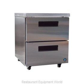 Hoshizaki CRMR27-D Refrigerator, Undercounter, Reach-In