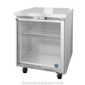 Hoshizaki CRMR27-GLP01 Refrigerator, Undercounter, Reach-In