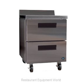 Hoshizaki CRMR27-WD Refrigerated Counter, Work Top