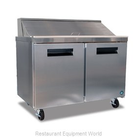 Hoshizaki CRMR48-12 Refrigerated Counter, Sandwich / Salad Top